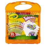 Crayola Twistables Colored Pencils Kit, 65 count Only $7.67!