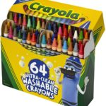 Crayola Ultra Clean Washable Crayons 64-Count Only $6.29!