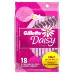 Gillette Daisy Women's Disposable Razor, 18 count as low as $8.49!