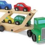 Melissa & Doug Car Carrier Truck & Cars Wooden Toy Set Only $11.77!