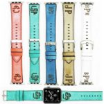 Monogram Leather Apple Watch Bands Only $10.99 Shipped!