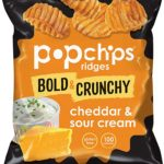 Popchips Ridges Potato Chips, 72 count as low as $11.87! ($0.16 each)