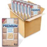 Premium Original Fresh Stacks Saltine Crackers, 6 Boxes as low as $1.71 each!