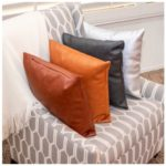 Vegan Leather Pillow Covers - $10.99!
