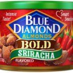 Blue Diamond Almonds, Bold Sriracha, Only $2.54!