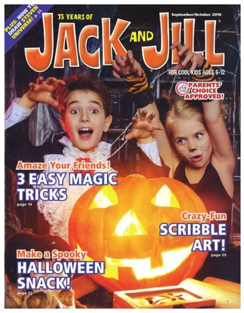Jack & Jill Magazine Subscription Only $6.99!