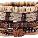 Leather Stack Bracelet Only $7.99!