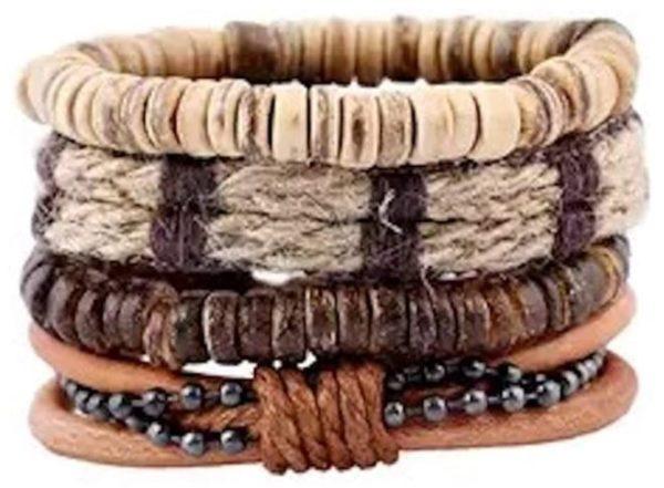 Leather Stack Bracelet