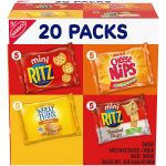 Nabisco Savory Cracker Variety Pack 20-Count Pack as low as $5.93!