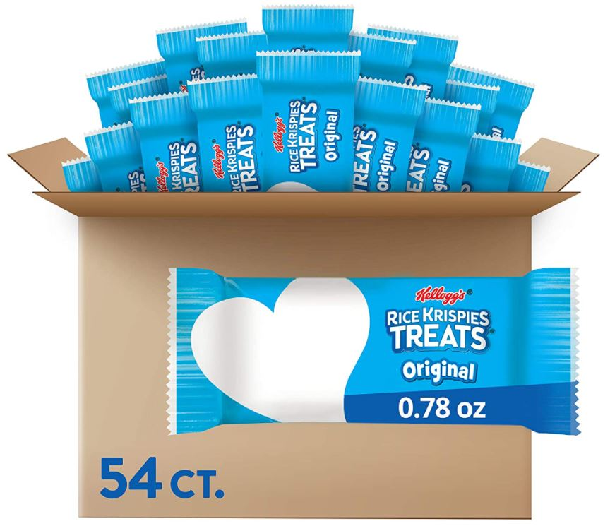 Kellogg's Rice Krispies Treats (Pack of 54) as low as $10.25 Shipped!