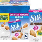 Silk Almond Milk Unsweetened Original 6-Pack as low as $10.14! ($1.69 Each)