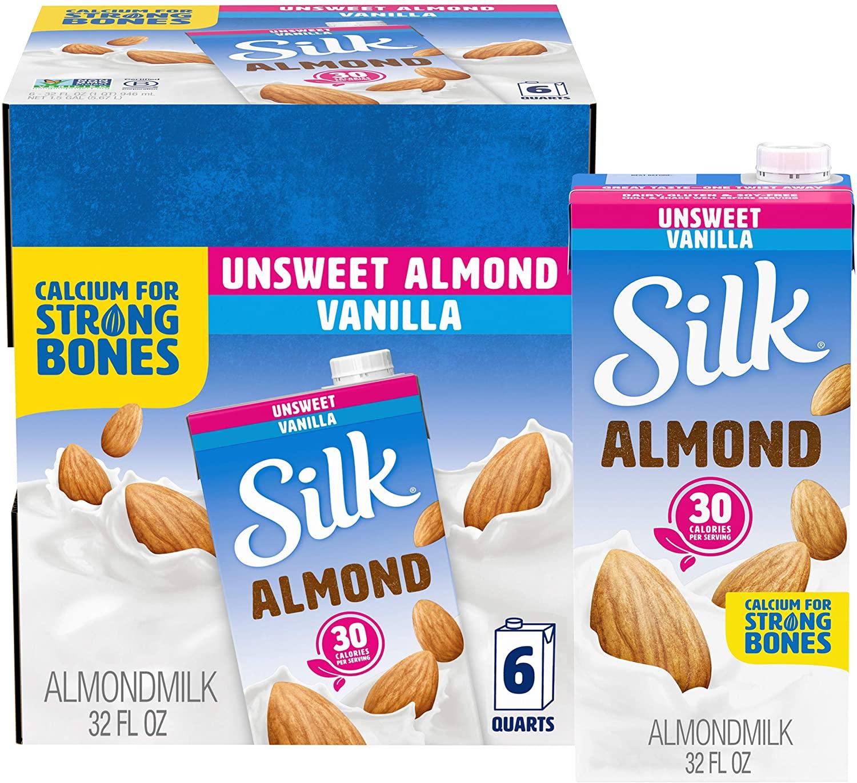 Silk Almond Milk Unsweetened Original 6-Pack as low as $8.96! ($1.49 Each)