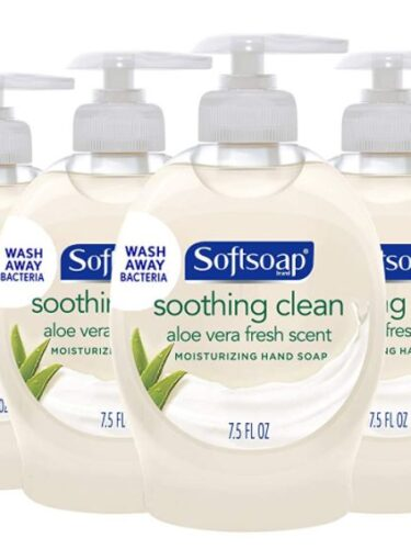 Softsoap Liquid Hand Soap 6-Pack as low as $5 – $0.83 per Bottle!!