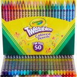Crayola Twistables Colored Pencils 50-Count Only $9.09 Today Only!