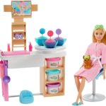 Barbie Face Mask Spa Day Playset - $23.88 - Best Price!