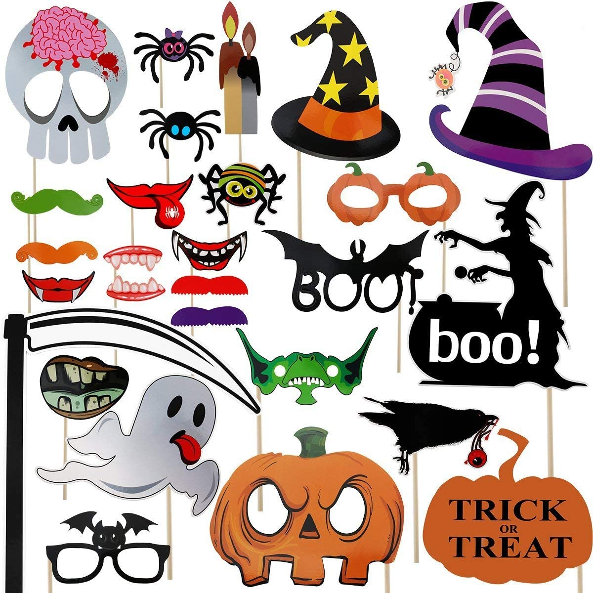 Halloween Photo Booth Props Only $8.99!