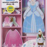 Melissa & Doug Disney Magnetic Dress-Up Wooden Dolls Only $6.99!