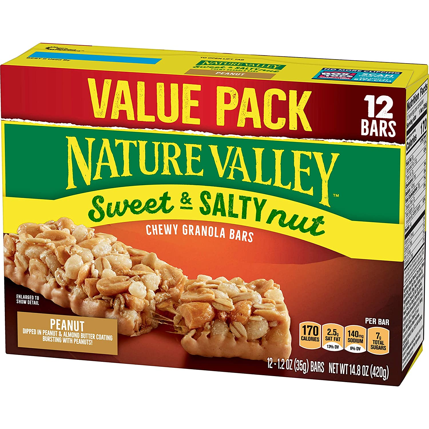 Nature Valley Granola Bars, Sweet and Salty Nut, 12 ct Only $2.70!