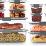 Rubbermaid Brilliance Food Storage Container, 24-Piece Set Only $27.99! Best Price!