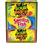 Sour Patch Kids & Swedish Fish Variety Pack 18-Count as low as $7.57!