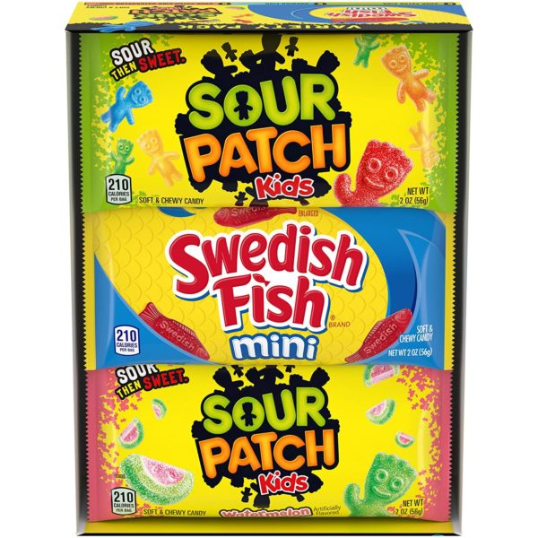Sour Patch Kids & Swedish Fish Variety Pack