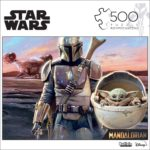 Star Wars Jigsaw Puzzle - The Mandalorian Only $7.97!