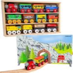 Wooden Engines & Train Cars Collection 20-Piece Set Only $19.99!
