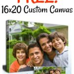 FREE 16x20 Canvas from Canvas People (Just Pay S&H)!