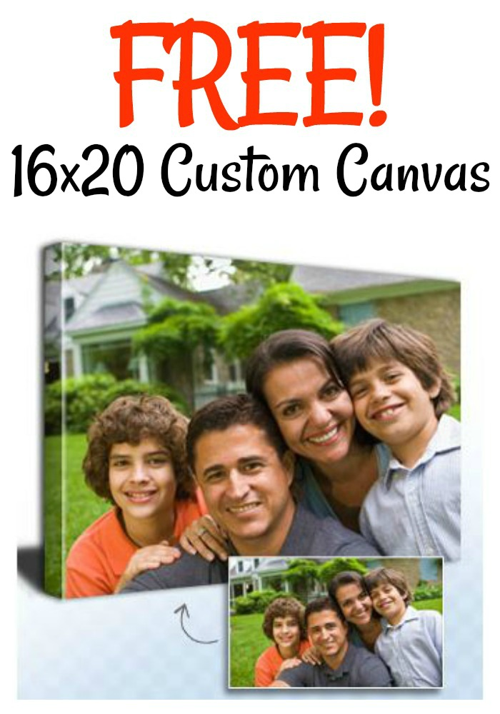 FREE 16×20 Canvas from Canvas People! (just pay s&h)