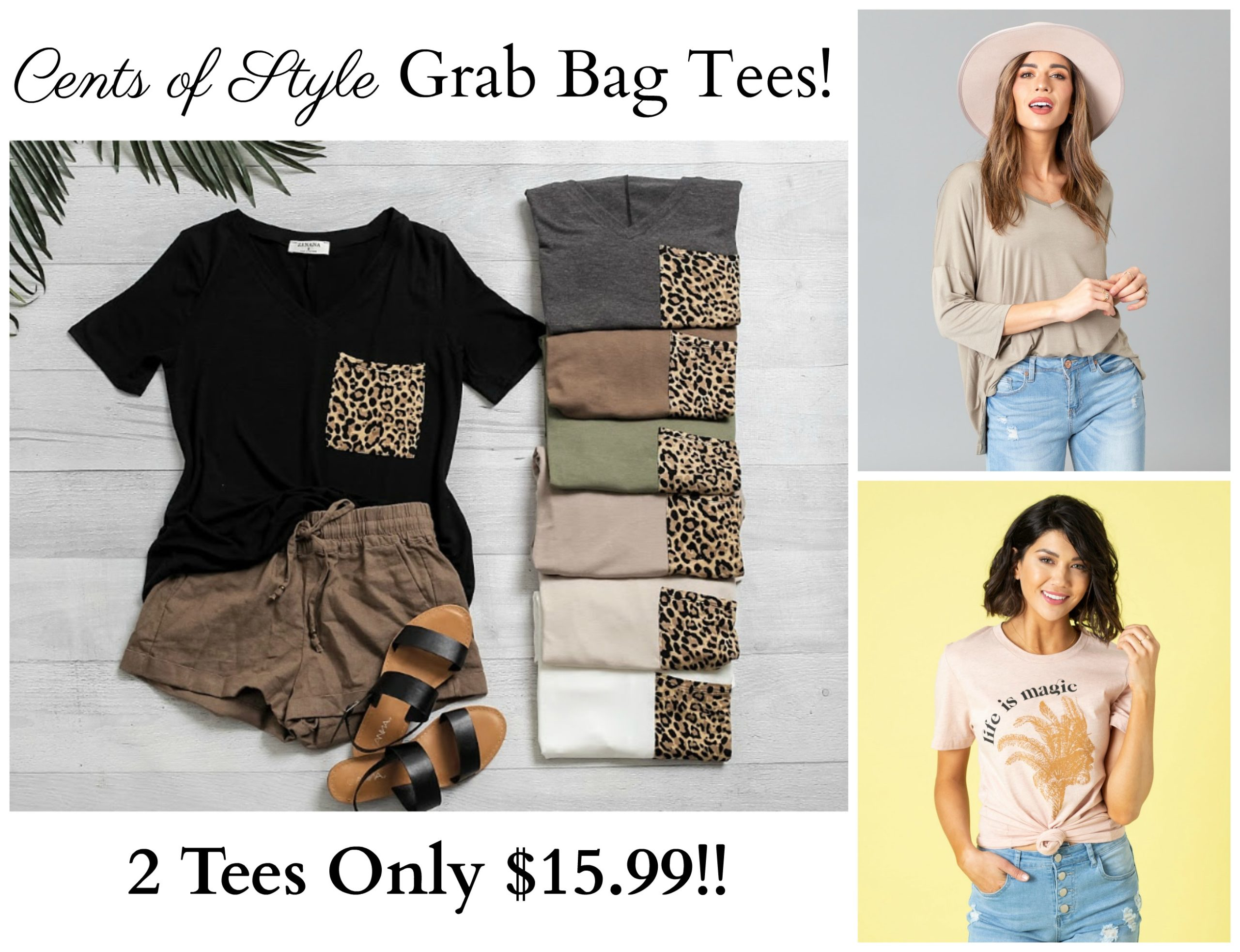 Cents of Style Grab Bags – 2 Tees Only $15.99!