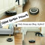 iRobot Roomba Robotic Vacuum Only $199.99 (Reg. $380)!