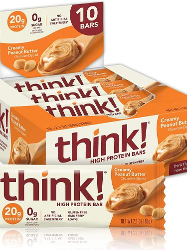 thinkThin think! High Protein Bars 10-Count as low as $8.70 Shipped!