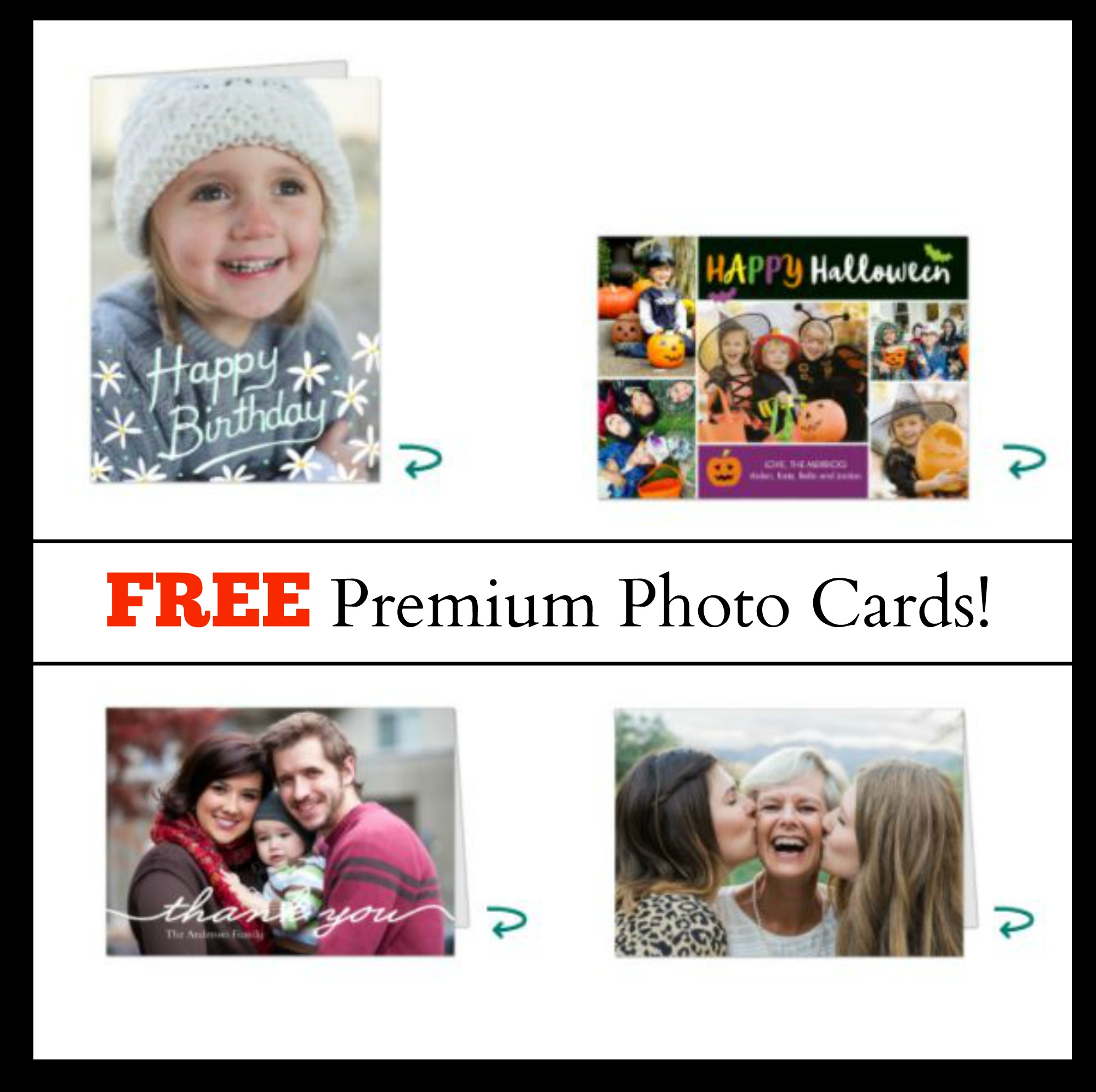 6 FREE Folded Cards at Walgreens!