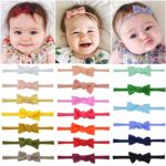 Set of 20 Baby Bow Headbands Only $5.08!