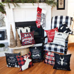 Colorful Christmas Pillow Covers Only $6.99!