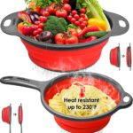 Collapsible Silicone Kitchen Strainer Set as low as $9.99!