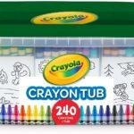 Crayola Crayon Tub Only $17.49!