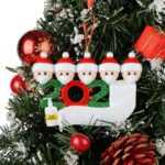 Family Christmas Ornament - Quarantine Style Only $5.99!