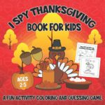 I Spy Thanksgiving Book for Kids Only $5.95!