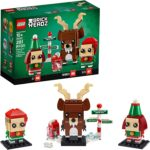 LEGO Brickheadz Reindeer, Elf and Elfie Only $14.75!