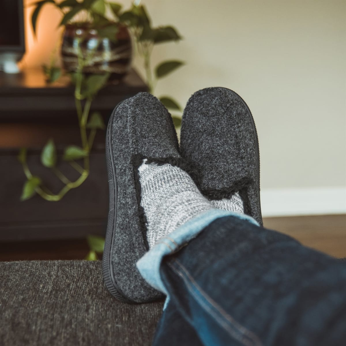 MUK LUKS Men's Moccasin Slippers Only $13.99 + FREE Shipping!