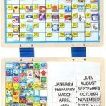 Melissa & Doug Monthly Magnetic Calendar Only $13.99!