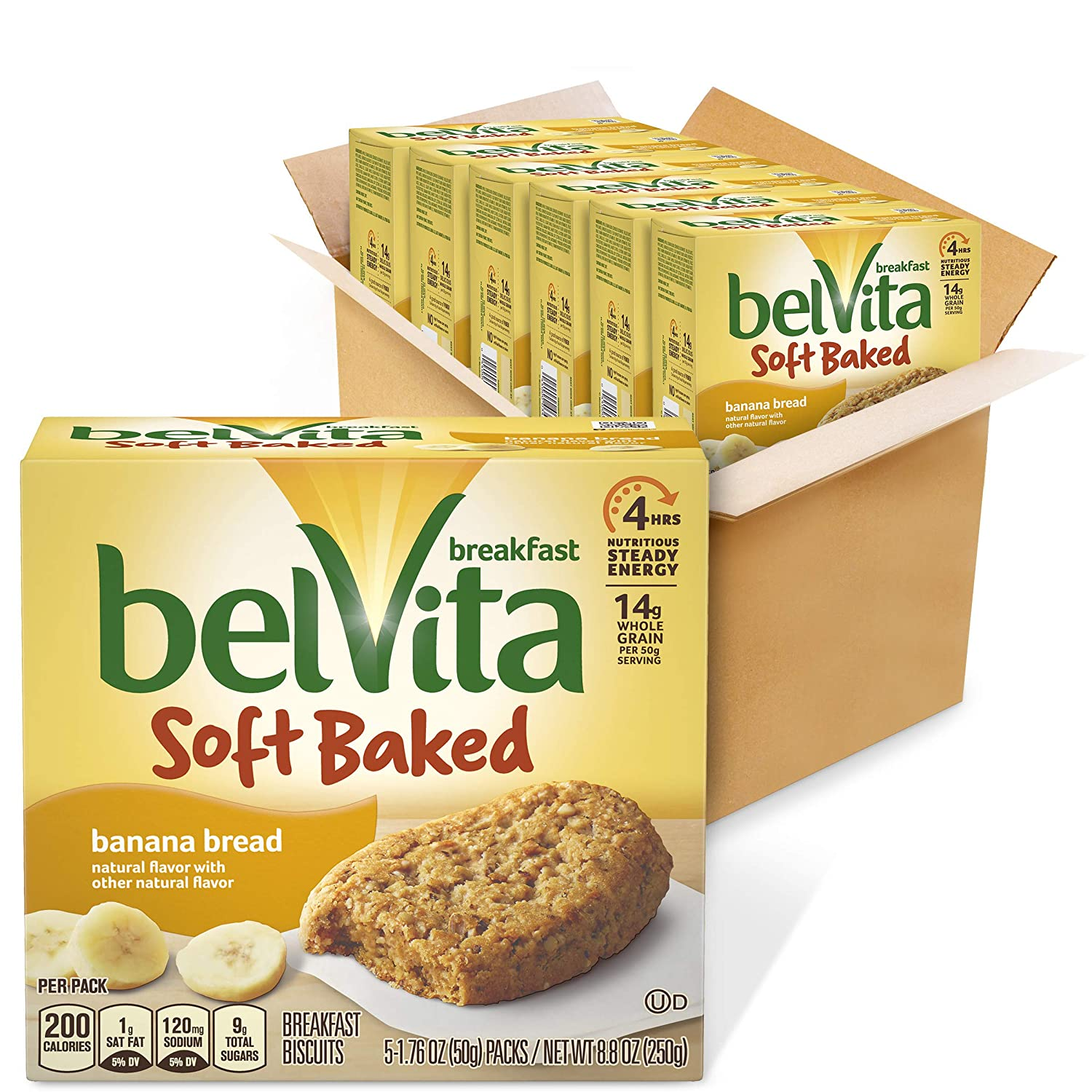 belVita Soft Baked Breakfast Biscuits 6-Box Pack as low as $2.01 per Box!