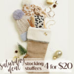 Cents of Style Stocking Stuffer Sale - 4 for $20!