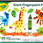 Crayola Giant Fingerpaint Pad Only $4.10!