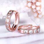 Gorgeous Crystal Hoop Earrings Only $8.99!