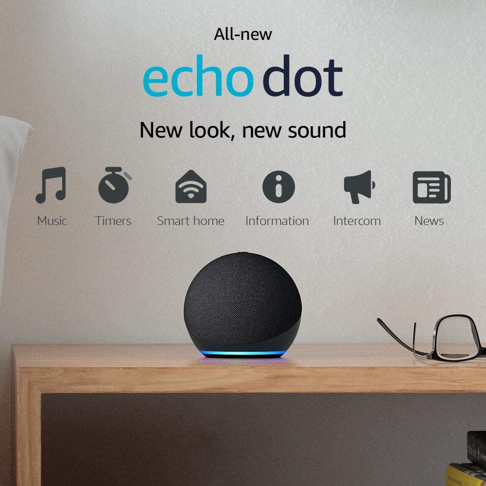Echo Dot on Sale! New Echo Dot 4th Gen. as low as $24.99!