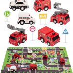 Fire Truck Toys with Play Mat Only $6.99 (Reg. $11)!