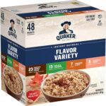 Quaker Instant Oatmeal Variety Pack 48-Count Only $7.95 Today Only!!