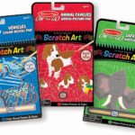 Melissa & Doug On the Go Scratch Art Color-Reveal Activity Pad 3 Pack Only $9.98!